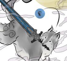 The Great Grey Wolf - Sifkami Sticker