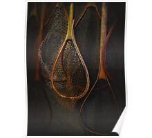 Still life with Fishing Nets Poster