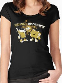 Drunk & Disorderly Women's Fitted Scoop T-Shirt