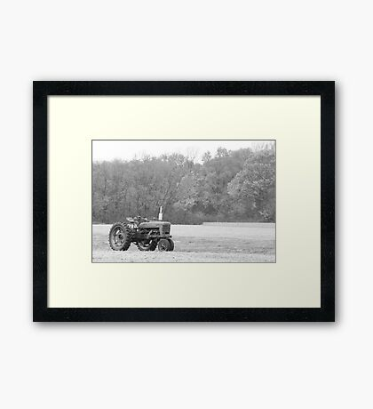 The Farmer's Tractor Framed Print