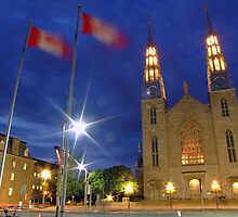 Notre Dame Cathedral Basilica, Ottawa, Canada by Max Buchheit