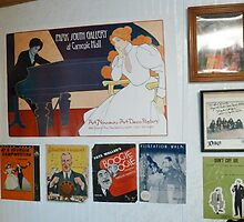 More Room Decorations,including DIO pic. by Stacey Lazarus