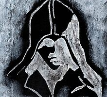 Assasins Creed Painting by Marie Mosca