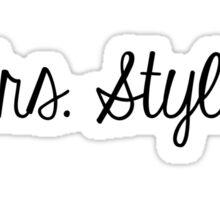 Mrs. Styles Sticker