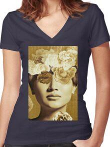 Golden Ipenema Women's Fitted V-Neck T-Shirt
