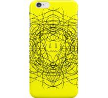 Crop circles iphone (yellow/black) iPhone Case/Skin