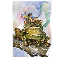 Frog Balm Poster