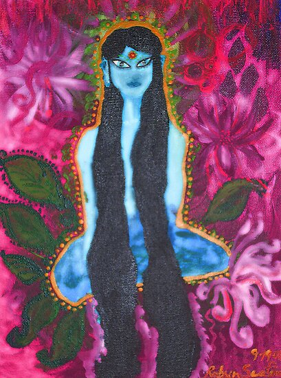 Forest Yogini by Robyn Scafone