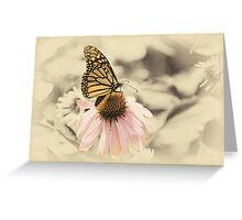 Monarch Memories Greeting Card
