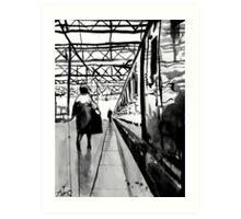 platform Art Print