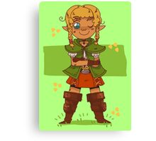 LINKLE!!! Canvas Print