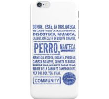 La Biblioteca Rap - Community iPhone Case/Skin