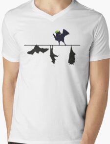 Top bat Mens V-Neck T-Shirt