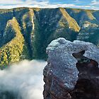 Kanangra Deep, Kanangra-Boyd National Park, New South Wales, Australia by Michael Boniwell