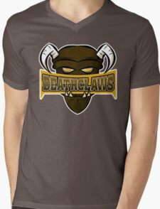 Deathclaws - Varsity Team Logo Mens V-Neck T-Shirt