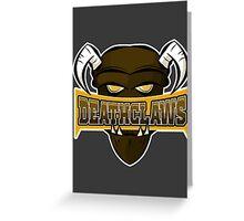Deathclaws - Varsity Team Logo Greeting Card