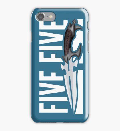 Buffy - Faith 5 by 5 minimalist poster iPhone Case/Skin