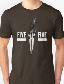 Buffy - Faith 5 by 5 minimalist poster Unisex T-Shirt