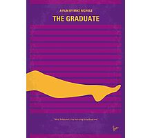 No135 My THE GRADUATE minimal movie poster Photographic Print