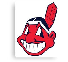 cleveland indians Canvas Print