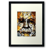 The Unembellished Buddha  Framed Print