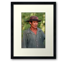Where Hats Travel Framed Print