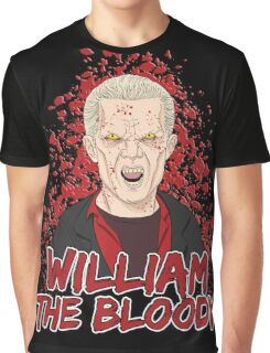 William the Bloody Graphic T-Shirt
