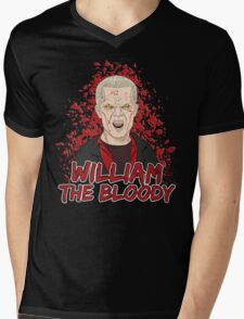 William the Bloody Mens V-Neck T-Shirt
