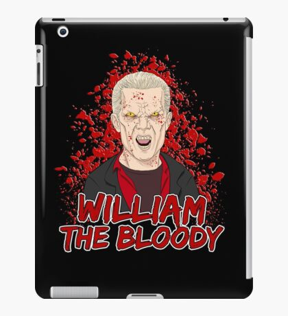 William the Bloody iPad Case/Skin