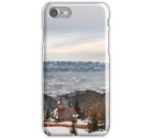 Snowy Mountains Landscape iPhone Case/Skin