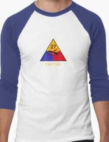 27th Armored Division 'empire' (United States) Men's Baseball ¾ T-Shirt