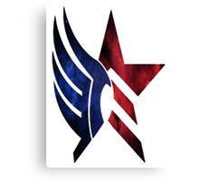 Mass Effect: Paragon-Renegade Canvas Print