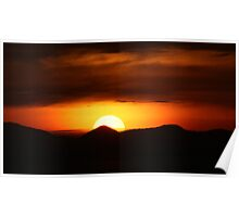 Spectacular Sunset Poster