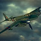 De Havilland Mosquito by Steven  Agius