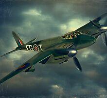 De Havilland Mosquito by Steven  Agius