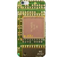 "Retro Cicuits #3 ""Leet Chip"" iPhone Case/Skin"