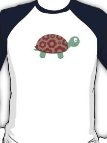 Cute Turtle with flowers T-Shirt