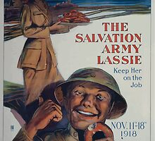 Oh boy! Thats the girl! The Salvation Army lassie keep her on the job by wetdryvac