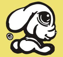 Cute Rabbit Tee / Sticker  Kids Clothes
