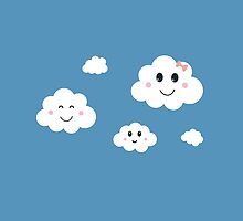 Cloud Family by ilovecotton