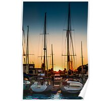 Harbour Morning 1 Poster