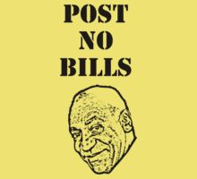Post No Bills (Bill Cosby) by jezkemp
