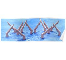 Synchronised Swimming (Random or Chaos) Poster