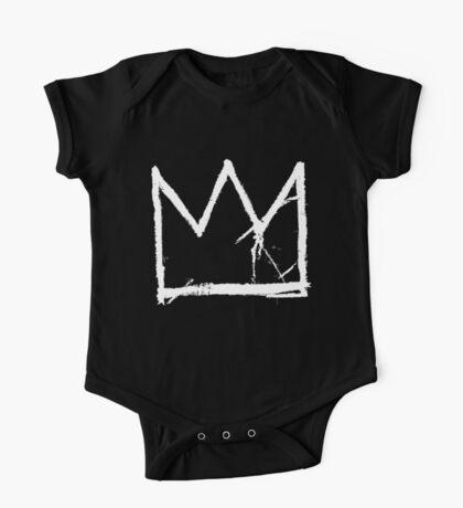 Basquiat King Crown One Piece - Short Sleeve