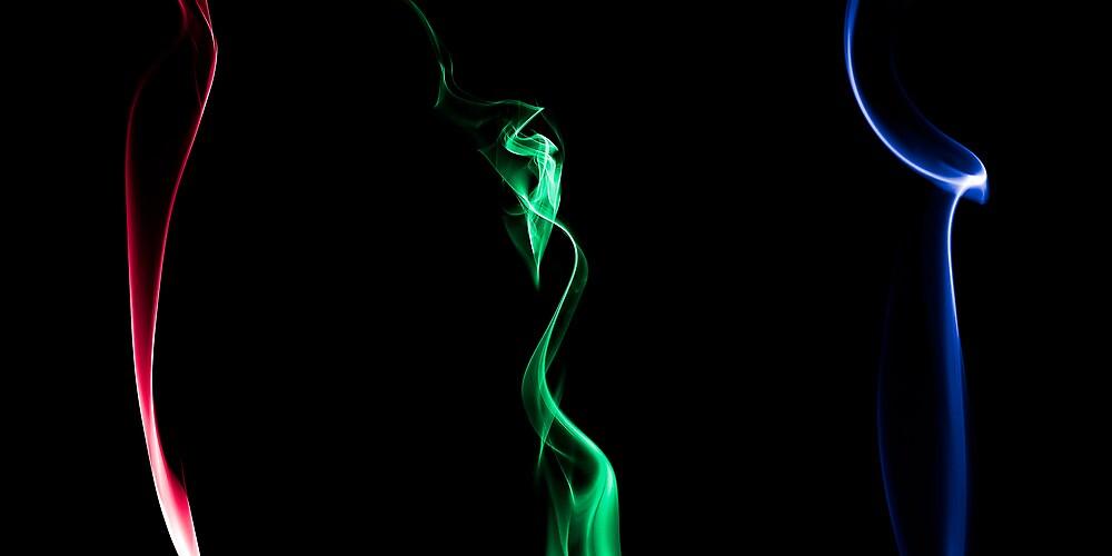 RGB Smoke by Gert Lavsen