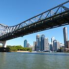 Brisbane & the Story Bridge by PhotosByG