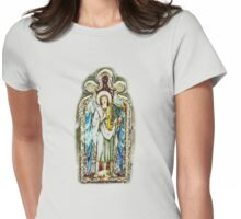 SINGING ANGEL  TEE SHIRT/BABY GROW/STICKER Womens Fitted T-Shirt