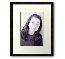 My forever girl Framed Print