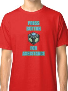 Mr. Meeseeks Easy Button Classic T-Shirt