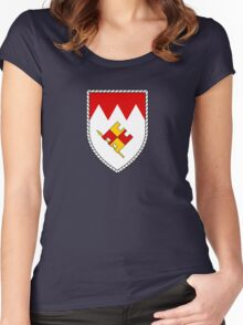 12th Panzer Division (Historical - Bundeswehr) Women's Fitted Scoop T-Shirt